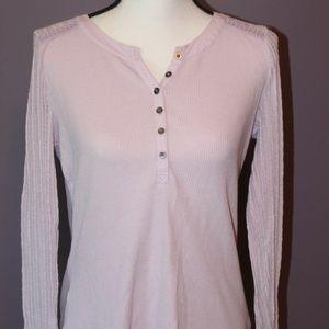 Sonoma Lavender Long Sleeve Henley